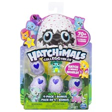 Hatchimals CollEGGtibles, 4-pack + bonus