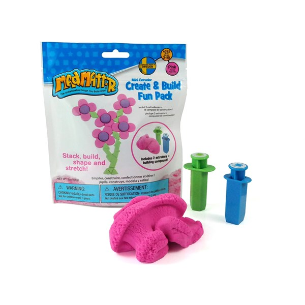 Leklera  Create And Build Fun Pack  rosa  Mad Mattr - pyssel