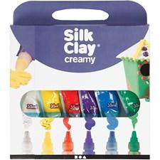 Silk Clay® Creamy, 6x35 ml, mixade färger