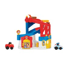 Little People Race & Chase & Rescue, Fisher-Price