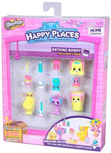 Decorator's Pack, Bathing Bunny, Happy Places