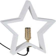 Star Trading Stjärna Lysekil E14 28x5x30 cm Vit