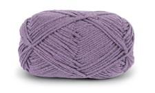 Dale Garn Lerke Pluss Ull Bomull Mix 50 g Grå Lavendel 8102