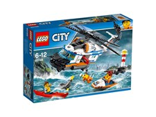 Tung räddningshelikopter, LEGO City Coast Guard (60166)