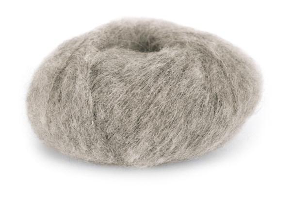 Du Store Alpacka Faerytale Garn 50 g ljus gråbrun 758