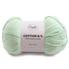 Adlibris Cotton 8/4 Garn 100g Mint Green A090
