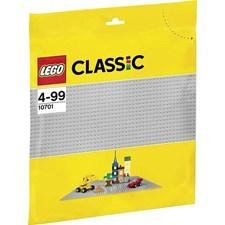Grå basisplate, Lego Klossar