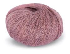 Du Store Alpacka Hexa Garn 50 g Rosa Melange 919