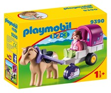 Hästvagn, Playmobil 1.2.3 (9390)