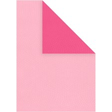 Strukturpapper, A4 210x297 mm, 100 g, 20 ark, rosa