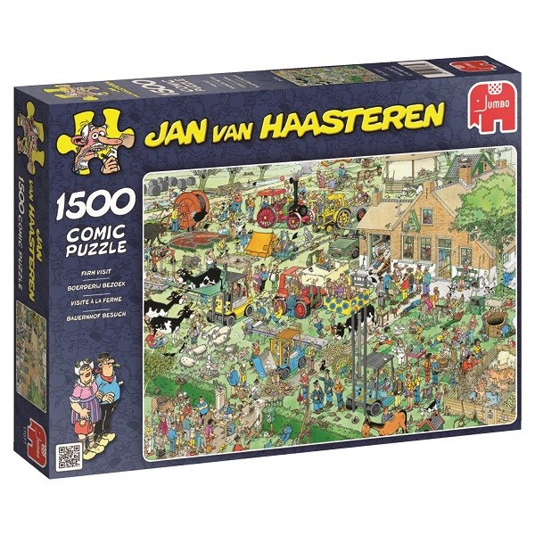Jan van Haasteren, The farm, Pussel 1500 bitar