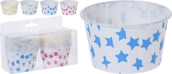Formar för bakning Paper Set 24-pack