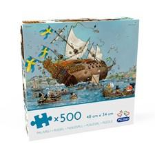 Kunnas Vasa-Laiva, 500 palaa
