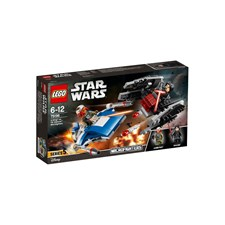 A-Wing™ vs. TIE Silencer™ Microfighters, LEGO Star Wars (75196)