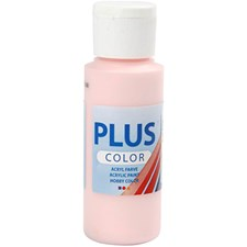 Plus Color-askartelumaali, 60 ml, soft pink