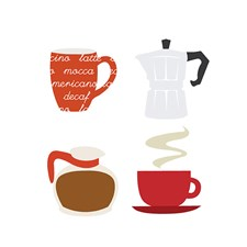 Aplikaatio, Kahvi, sekoitus noin 11/ 11 cm