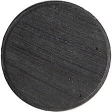 Magnet, dia. 20 mm, tykkelse 3 mm, 50stk.