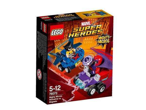 Wolverine mot Magneto, Mäktiga mikromodeller, LEGO Super Heroes (76073)