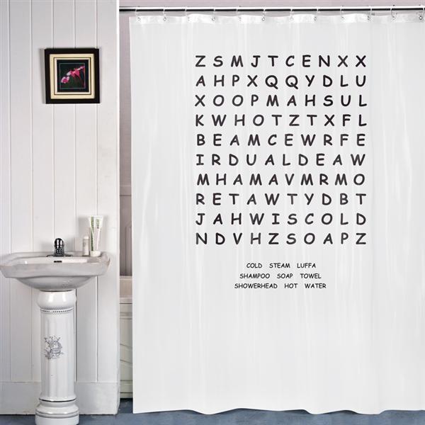 Leta Ordet Duschdraperi  Gifthouse International - duschdraperi