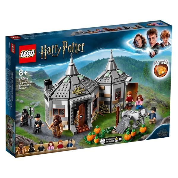 Hagrids stuga: Rädda Vingfåle, LEGO Harry Potter (75947)
