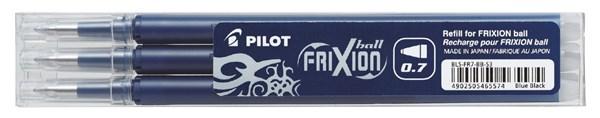 Vaihtosäiliö Frixion 0,7 mm Sinimusta 3 kpl
