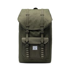 Herschel Ryggsäck Little America Olive Night Crosshatch