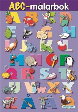 Fargeleggingsbok ABC