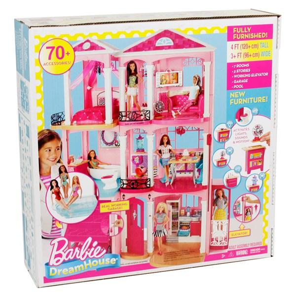 Barbie Dream House FFY84 - dockskåp & tillbehör