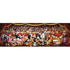 Puslespill Panorama, Disney Orkester, 1000 brikker, Clementoni