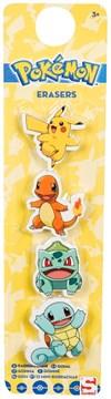 Suddgummi, 4-pack, Pokémon
