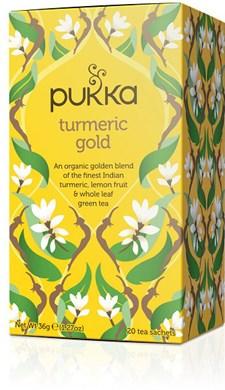 Pukka Te Turmeric Gold Tepåsar 20 st Ekologisk