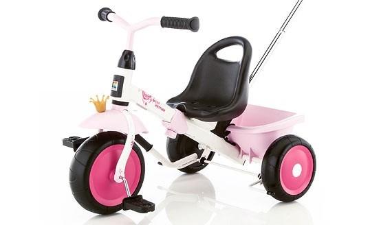 Happytrike Princess trehjuling  Kettler - trehjulingar