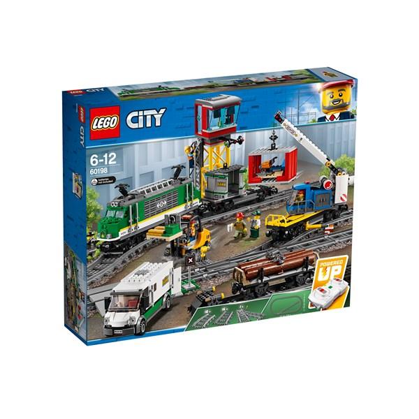 Godståg  LEGO City Trains (60198)  Lego - lego & duplo