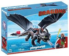 Hikken og Tannlaus, Playmobil Dragons (9246)