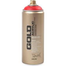 Spraymaling, 400 ml, rød