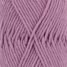 Drops Merino Extra Fine Uni Colour Garn Ullgarn 50g Amethyst 36