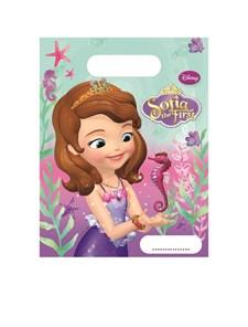 Disney Sofia Den Första Godispåsar, 6 st