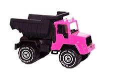 Plasti Kuorma-auto 30 cm Musta/Vaaleanpunainen