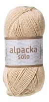 Alpacka Solo Ullgarn 50g Ljusbeige (29102)