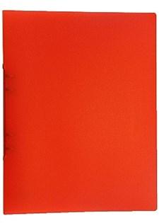 Ringpärm av Plast A4 Transparent Röd