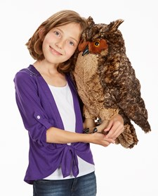 Owl - Plush, Melissa & Doug