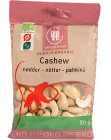 Urtekram Cashewnötter 80 g Eko