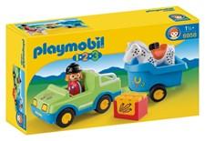 Bil med hestehenger, Playmobil 1.2.3