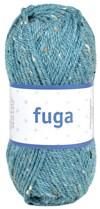 Fuga Garn Ullmix 50g Havsgrön Tweed (601759