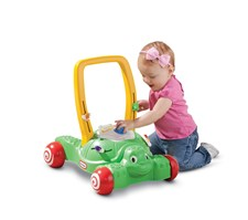2-in-1 Push & Play Turtle, Gåvogn, Little Tikes