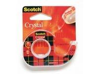Teip crystal SCOTCH m/holder 10 m x 12 mm