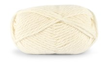 Knit At Home Nordic Wool Garn Ullgarn 100 g Oblekt Vit 705