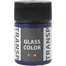 Glass Color Transparent lasimaali, 35 ml