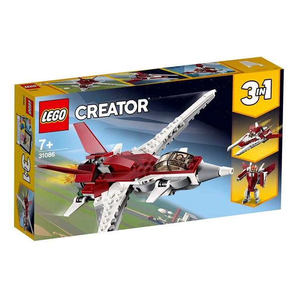 Futuristiskt flygplan  LEGO Creator (31086)  Lego - lego & duplo