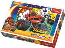 Pussel 60 bitar, Blaze och Monstermaskinerna